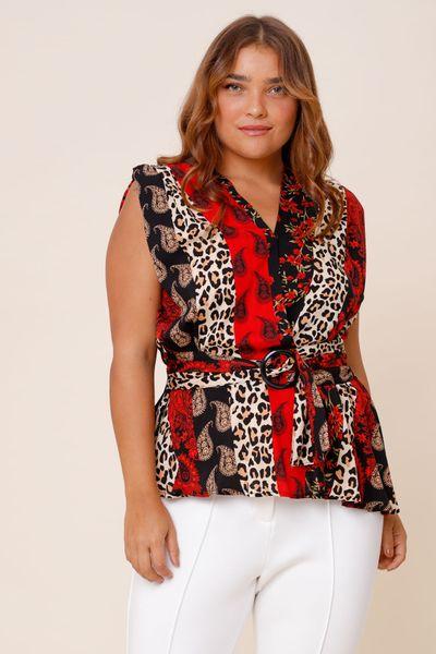 Blusa Claudia  Vermelho 36