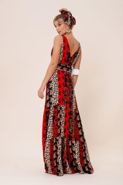Vestido Claudia  Vermelho 36