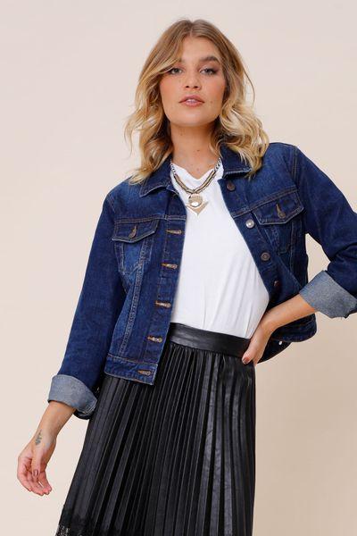 Jaqueta Jeans Basic Jeans 36