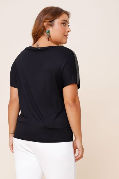 Blusa Flash Dance Preto P