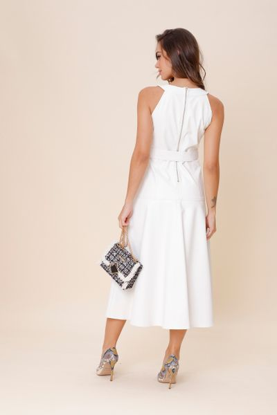 Vestido Faux Off-white 36