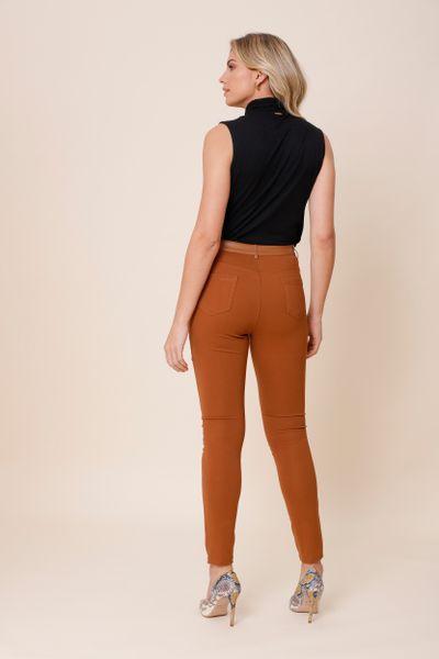 Calça Skinny Catarina  Camel 36