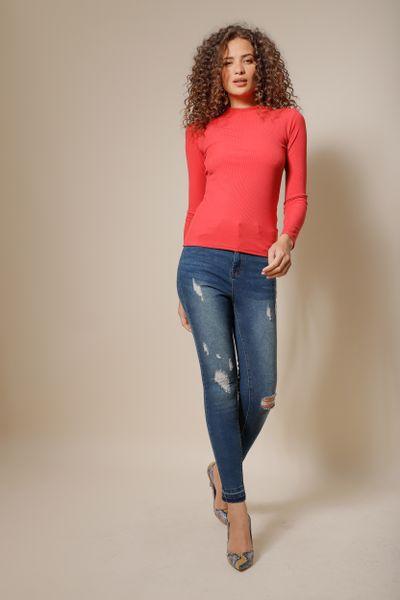 Calça Jeans Skinny Fabi Azul índigo 36