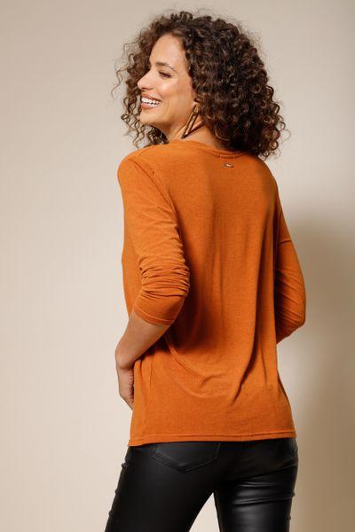 T-Shirt Malha Carina Marrom P