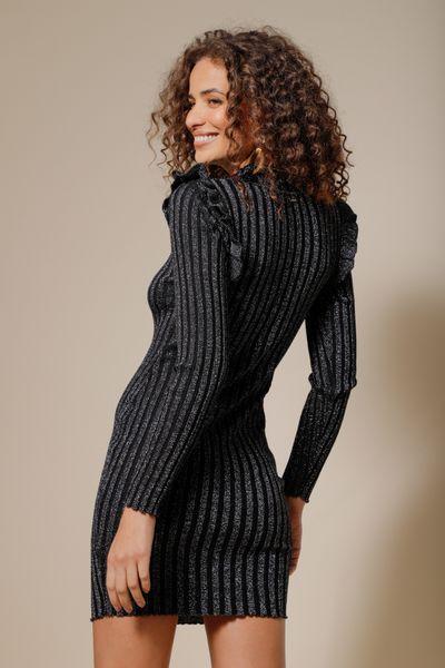 Vestido Tricot Bonnie Preto P