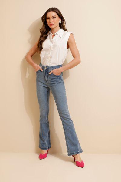 Calça Jeans Flare Flavia Jeans 36