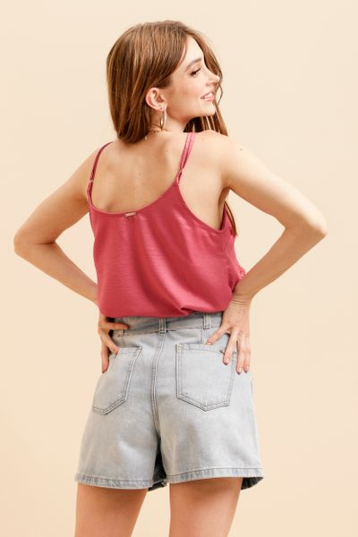 Shorts Jeans Mom Fit Azul claro  36