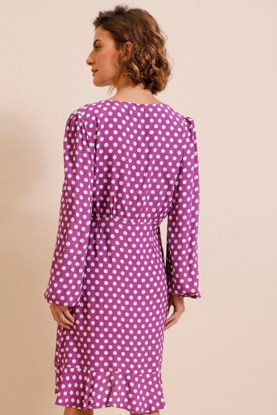 Vestido Curto Póa  Roxo  36