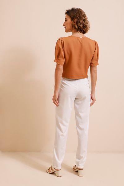 Calça Alfaiataria Slim Off-white 36