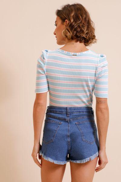 Shorts Jeans Blue  Azul índigo 36